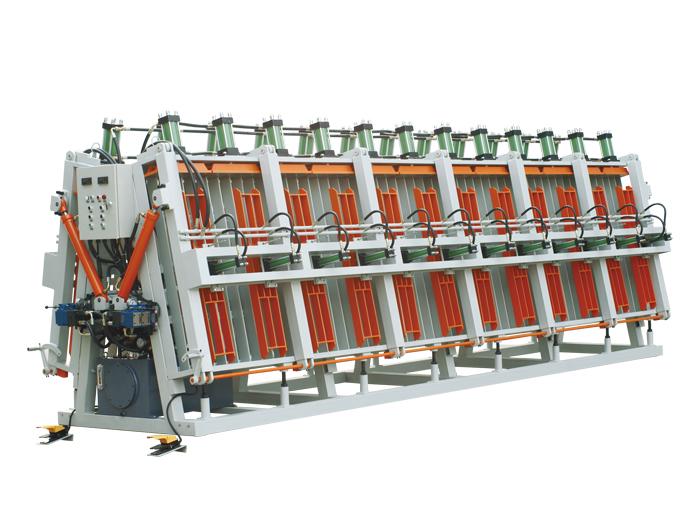 常规式液压双面拼板机
